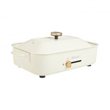 BRUNO Compact Hot Plates white PC