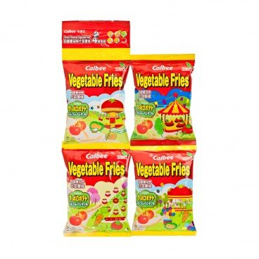 CALBEE - Tomato Flavoured Vegetable Fries Continual 4 Pack - 10GX4