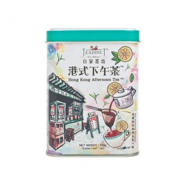 TEADDICT Ice House Series hong Kong Afternoon Tea 100G