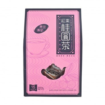 HAND MADE TASTE - Black Sugar Red Date Longan Tea - 15'S