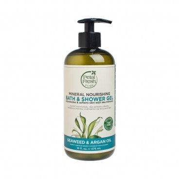 PETAL FRESH - Seaweed Argan Oil Bath Shower Gel - 475ML