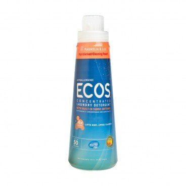 EARTH FRIENDLY PRODUCTS Ecos 4 x Laundry Detergent magnolia Lily 739ML