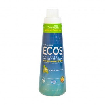 EARTH FRIENDLY PRODUCTS Ecos 4 x Laundry Detergent lemongrass 739ML