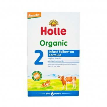 HOLLE - Organic Infant Follow on Formula 2 - 600G