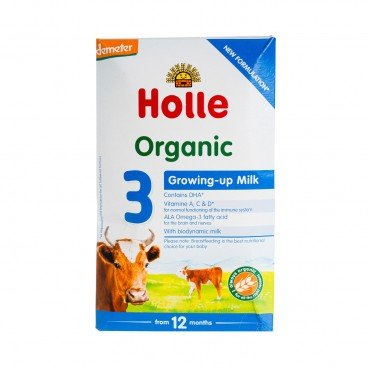 HOLLE - Organic Growing Up Formula 3 - 600G