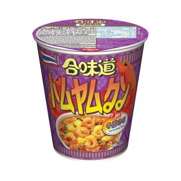 NISSIN - Cup Noodle tom Yum Goong - 75G