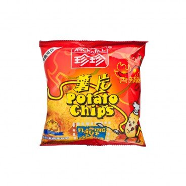 JACK'N JILL Potato Chips spicy Flavour 20G