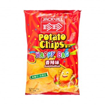 JACK'N JILL - Potato Chips spicy - 140G