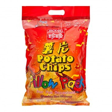 JACK'N JILL Potato Chips spicy Flavour 20GX8