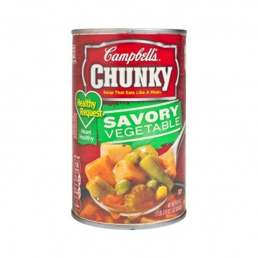 CAMPBELL'S - Chunky healthy Request Savory Vegetable Soup - 533G