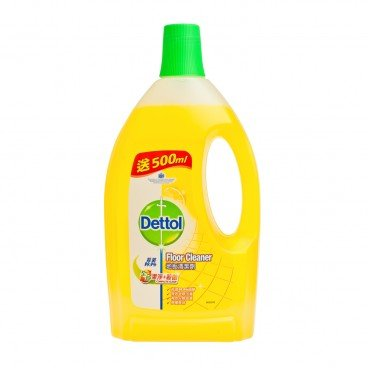 FLOOR CLEANER-LEMON
