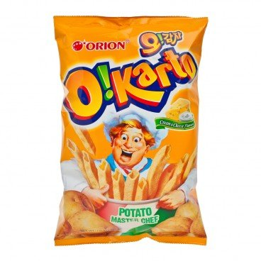 ORION - Ohgamja Potato Snack cheese And Cream Flavor - 115G