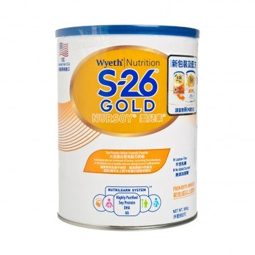 WYETH - Nursoy Gold - 900G