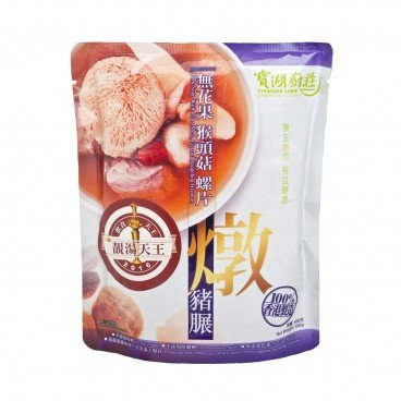 TREASURE LAKE GREENFOOD KITCHEN Pork Soup With Clam Meat Fig And Hedgehog Hydnum 500G