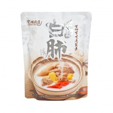 TREASURE LAKE GREENFOOD KITCHEN - Almond With Pig Lung Soup - 500G