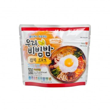 EASYBAB - Instant Rice Kimchi Flavor - 100G