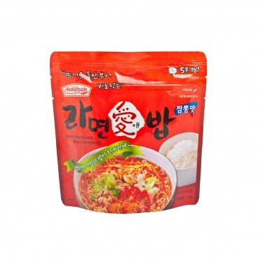 JJAMPPONG INSTANT NOODLE WITH PUFFED RICE