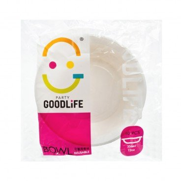 GOODLIFE - 12 oz Reusable Bowl - 10'S