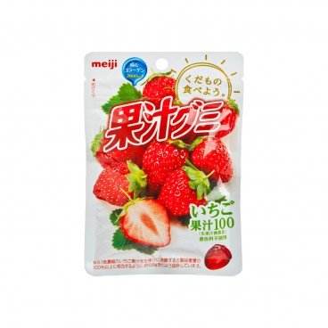 MEIJI Gummy strawberry 51G