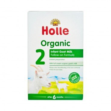 HOLLE - Organic Infant Goat Milk Follow on Formula - 400G