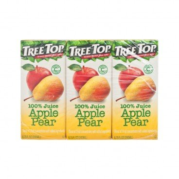 TREE TOP - Apple Pear Juice - 200MLX3
