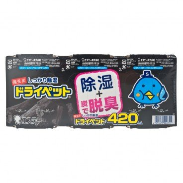 S.T. CORPORATION - Bincho tan Dry Pet - 420MLX3