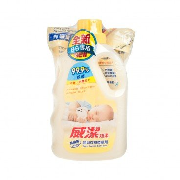 VIGOR Baby Fabric Softener Refill Pack whitey 800MLX2