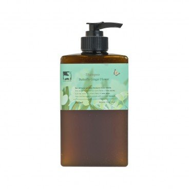 GINGERGINGER Butterfly Ginger Flower Shampoo 500ML