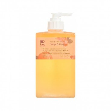 GINGERGINGER - Orange Ginger Bath Gel - 500ML