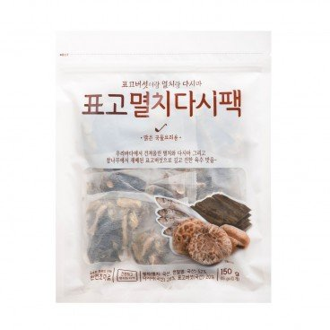 GAGASTORE - ICOOP KOREA Shiitake Anchovy Soup Pack 15GX10