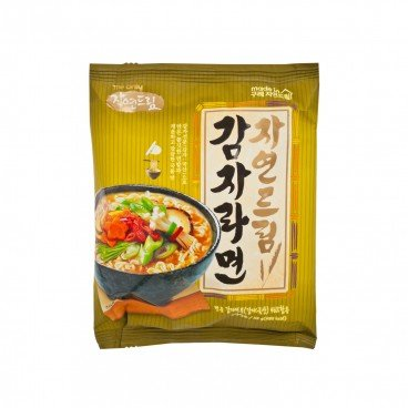 GAGASTORE - ICOOP KOREA Natural Dream Ramen potato Mild Spicy 113G