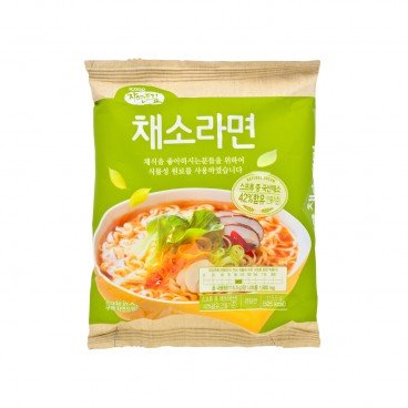 GAGASTORE - ICOOP KOREA Natural Dream Ramen vegetable Mild Spicy 115.5G