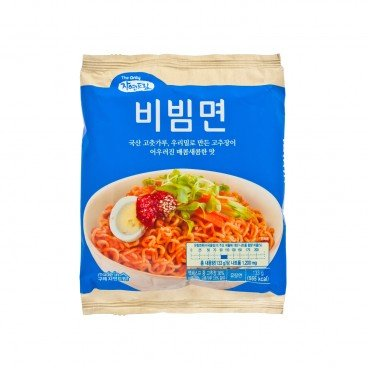 GAGASTORE - ICOOP KOREA Natural Dream Noodles vegetable Mild Spicy 133G