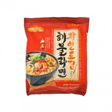 GAGASTORE - ICOOP KOREA Natural Dream Ramen spicy Seafood 113G