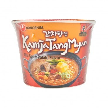 NONG SHIM Big Bowl mild Spicy Potato Noodle 117G