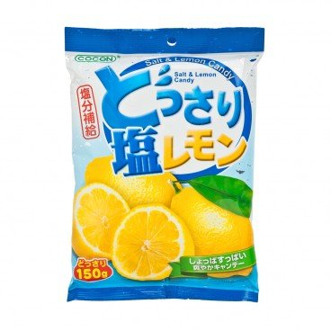 COCON Salt Lemon Candy 150G