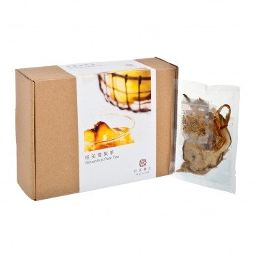 HO CHA Osmanthus Pear Tea 10'S