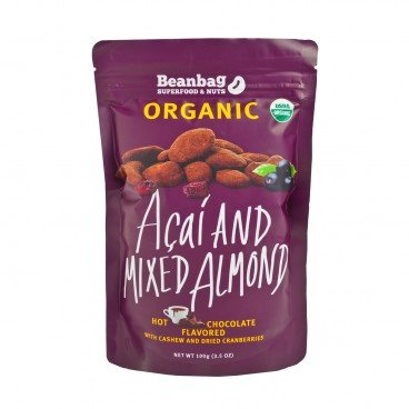 BEANBAG Organic Acai And Mixed Almond With Hot Chocolate Flavored 100G