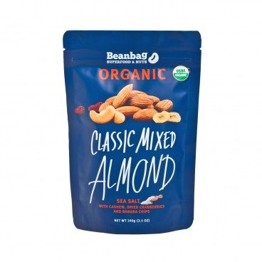 BEANBAG Classic Mixed Almond With Sea Salt 100G