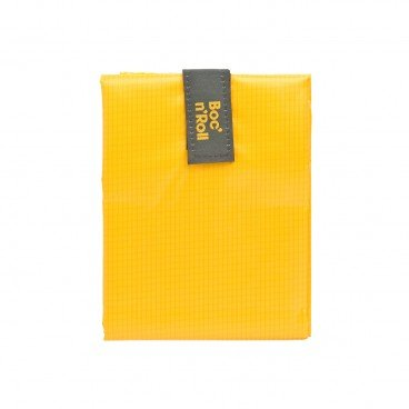 BOC'N'ROLL BY ROLL'EAT Eco friendly Sandwich Wrap square Yellow PC