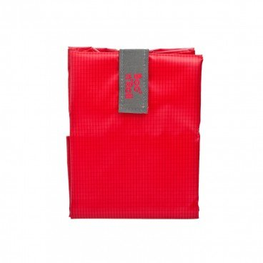 BOC'N'ROLL BY ROLL'EAT Eco friendly Sandwich Wrap square Red PC