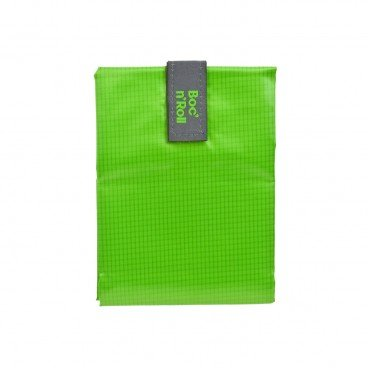 BOC'N'ROLL BY ROLL'EAT Eco friendly Sandwich Wrap square Green PC