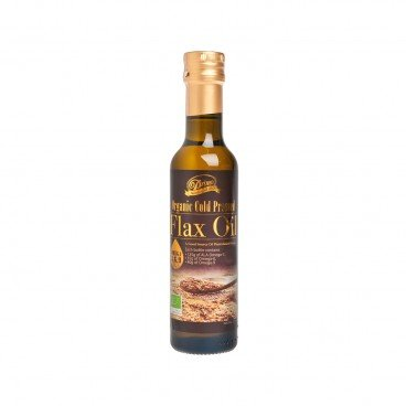 ORGANIC COLD PRESSED FLAX OIL