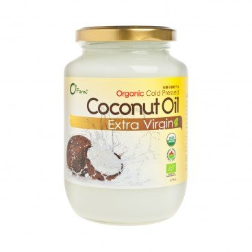O'FARM - Organic Cold Pressed Coconut Oil - 473ML