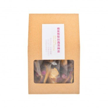 PRETTYLAND HERBAL Pear Apple Rose Roselle Tea 16G
