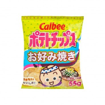 CALBEE Okonomiyaki Potato Chips 55G
