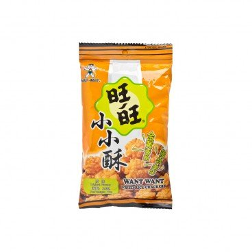 WANT WANT - Fried Senbei original Flavour - 30G