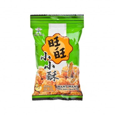 WANT WANT Fried Senbei chickenflavour 30G