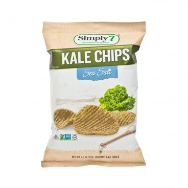 SIMPLY 7 - Kale Chips sea Salt - 3.5OZ