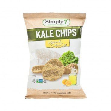 SIMPLY 7 - Kale Chips olive Oil Lemon - 3.5OZ